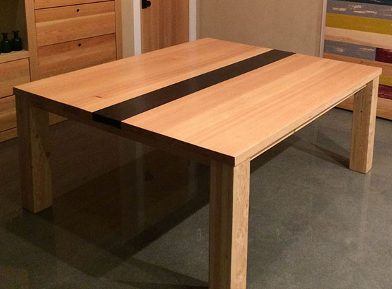Local Wood Dining Room Table