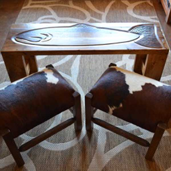 Hand Crafted Accent Furniture